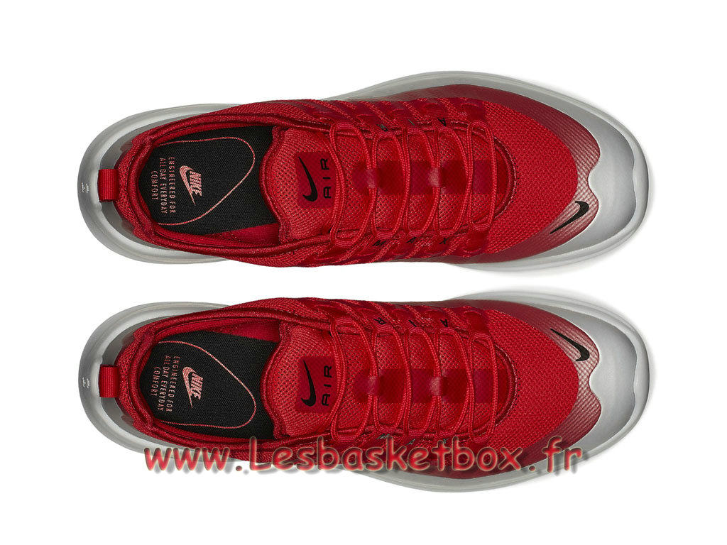 ... Nike Air Max Axis Blanc Rouge AA2146_600 Chaussures Prix Officiel Pour Homme Blanc/rouge ...