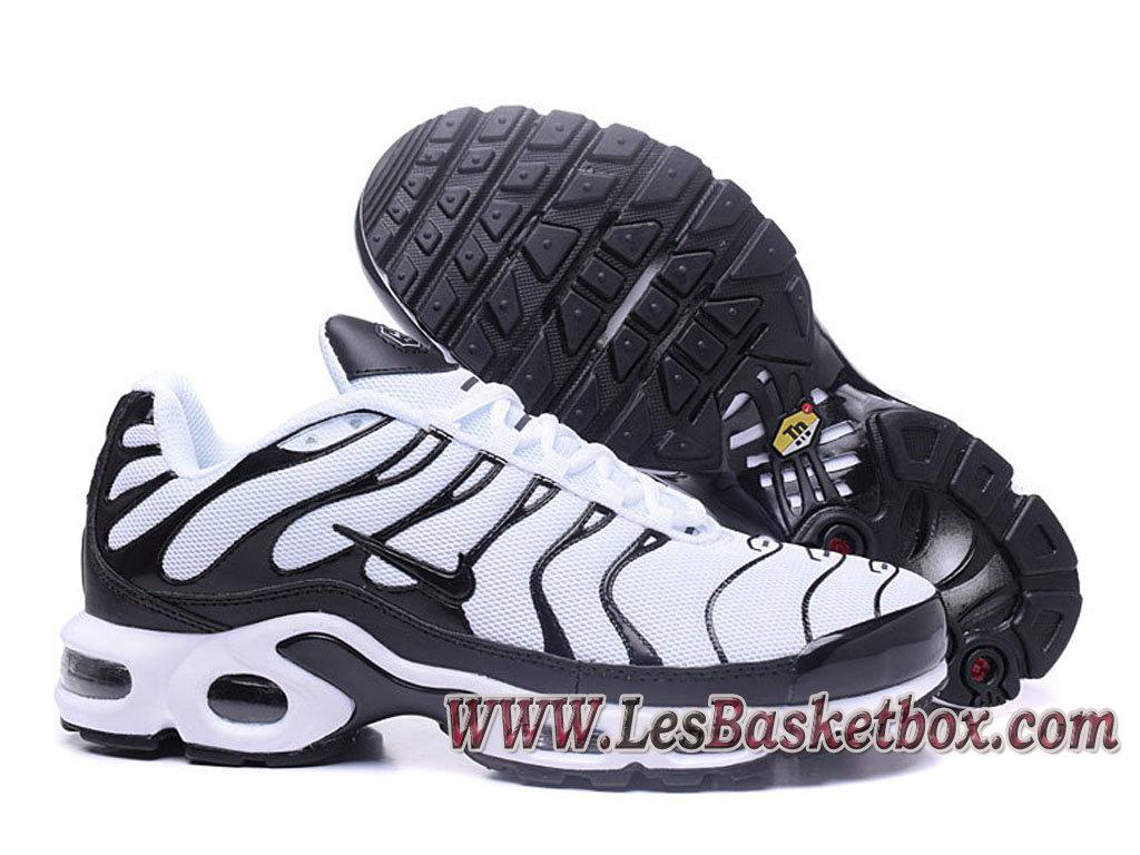 on sale 8c92b 347ea Nike Air Max Plus (Nike Tn 2017) Black White Shoe Nike Tuned 1 véritable men ´s (Item No.:1704140760)