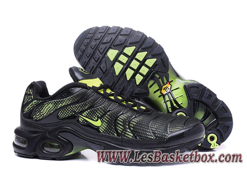 Nike Air Max Plus (Nike Tn 2017) Vert Noires Chaussures Nike prix véritable homme 1704140756 Officiel Nike Basket Pour Homme Et Femme A Vendre En