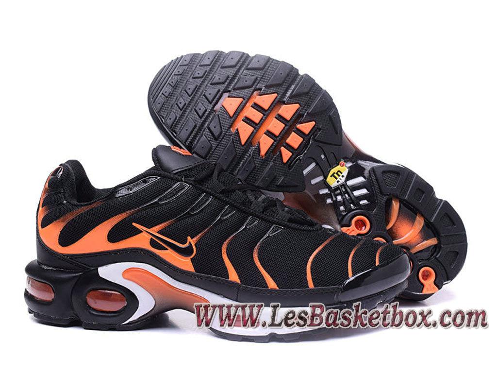 c6d3f0a24c6c ... Nike Air Max Plus (Nike Tuned 1) noires/Orange Chaussures Nike Tn 2017  ...