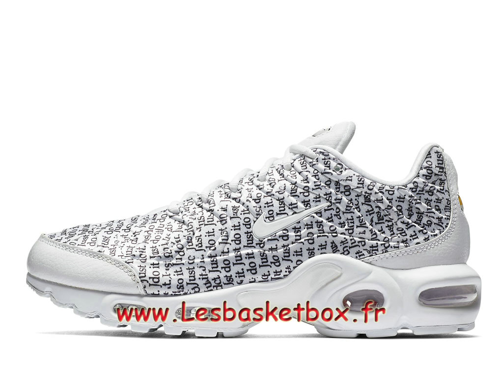 detailed look 274c3 e1c68 Nike Air Max Plus SE Just Do It Pack Grey 862201 103 Chaussures Officiel  prix Pour Femme ...