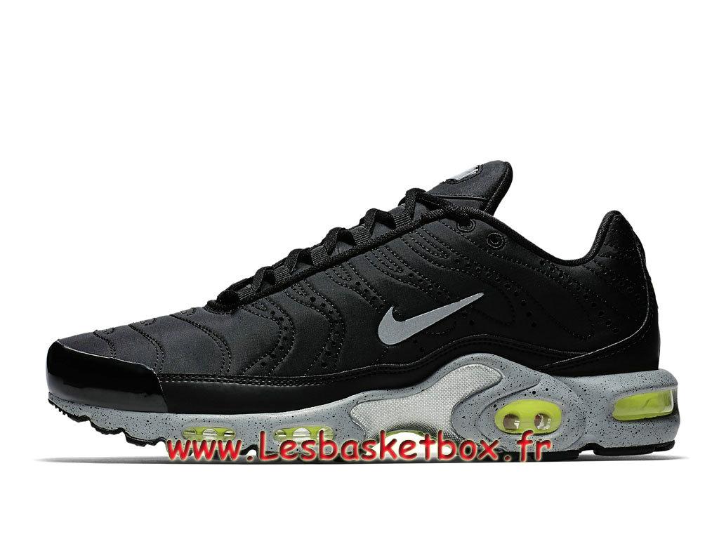 b966a1e61d3 Nike Air Max Plus se Noir Volt 815994 003 Chaussures officiel 2019 Pour  Homme ...