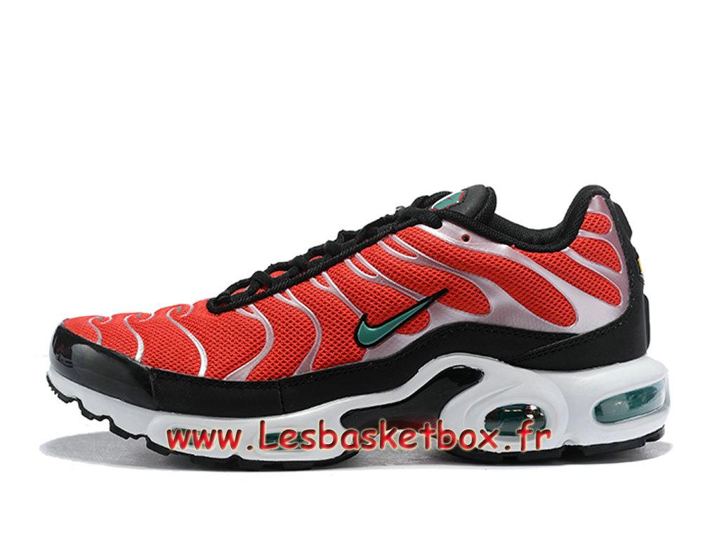 separation shoes 24db5 b6c2d Nike Air Max Plus/TN Chaussures Officiel Tn 2018 Pour Homme Orange Argent  ...