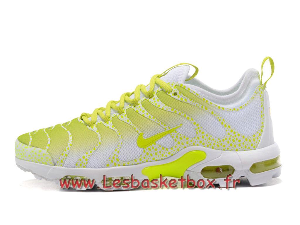 super popular ba463 d250c Nike Air Max Plus TN Ultra Blanc Volt Chaussures Nike TN 2017 Pour Homme