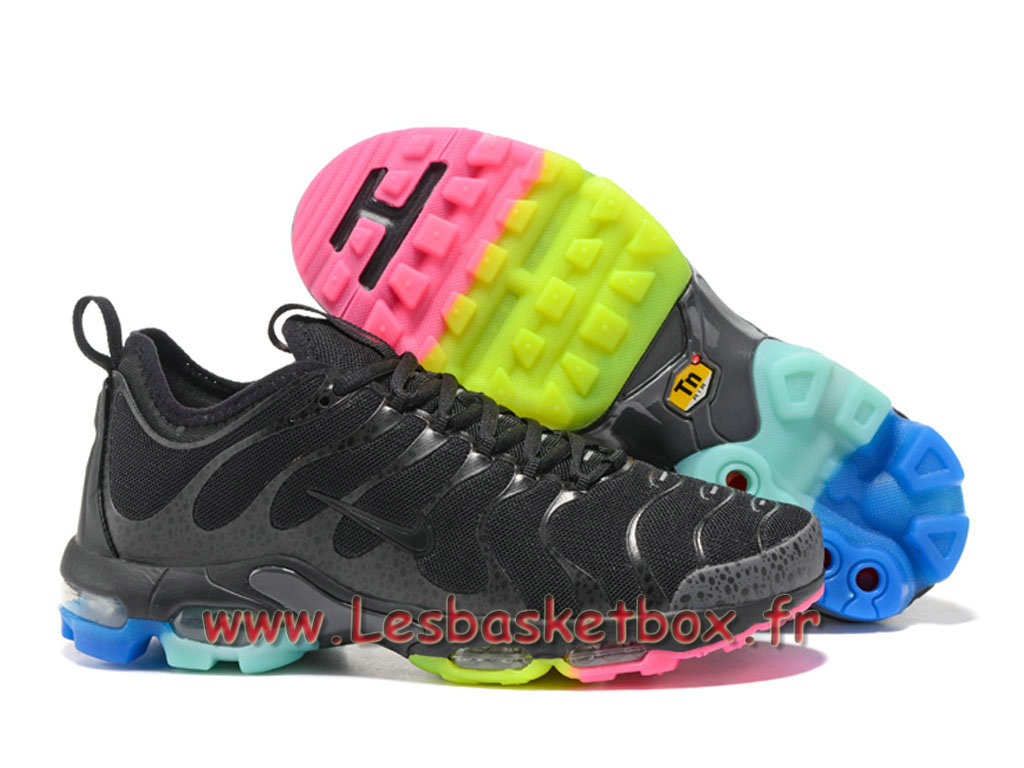 new product 45c1a 9d607 ... Nike Air Max Plus TN Ultra Noires Color Chaussures nike tn foot locker  Pour Homme ...