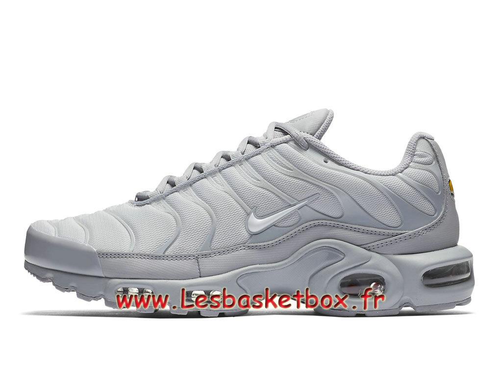 new concept 2cb77 7de21 Loading zoom. Nike Air Max Plus TN Wolf Grey 852630 029 Chaussures Officiel  pas cher ...