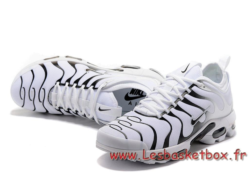 7bd2a895f396 ... Nike Air Max Plus Ultra Chaussures TN Prix Pour Homme Blanc/Noires ...