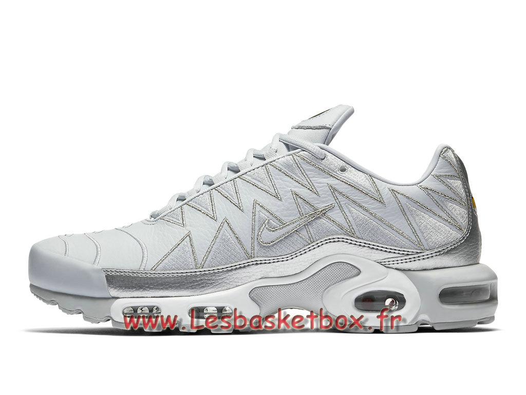 pretty nice fef07 faf86 Nike Air Max Plus Zig Zag Silver AJ6301 001 Chaussures Tn Requin Pour Homme  Gris - 1807211618 - Officiel Nike Basket Pour Homme Et Femme A Vendre En  Bas ...