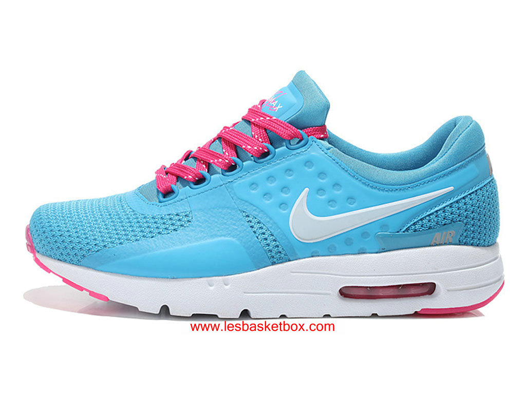 new product 9f647 c0d94 Nike Air Max Zero Blue White Shoes For Womens Kids Price Cheap