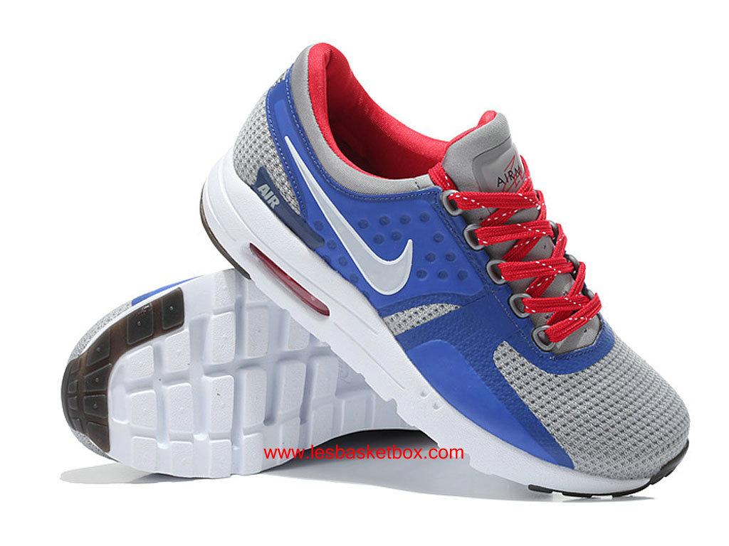 Nike Air Max Zero Bleu Gris Blanche Chaussures FemmeEnfant Pas Cher 1610190336 Officiel Nike Basket Pour Homme Et Femme A Vendre En Bas Prix