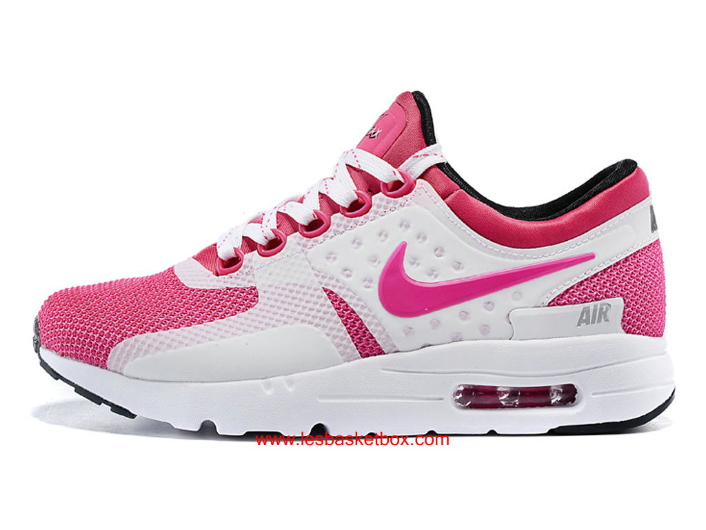 online store aa934 69eea Nike Air Max Zero Shoes Pink White Colour Cheap For Womens Kids