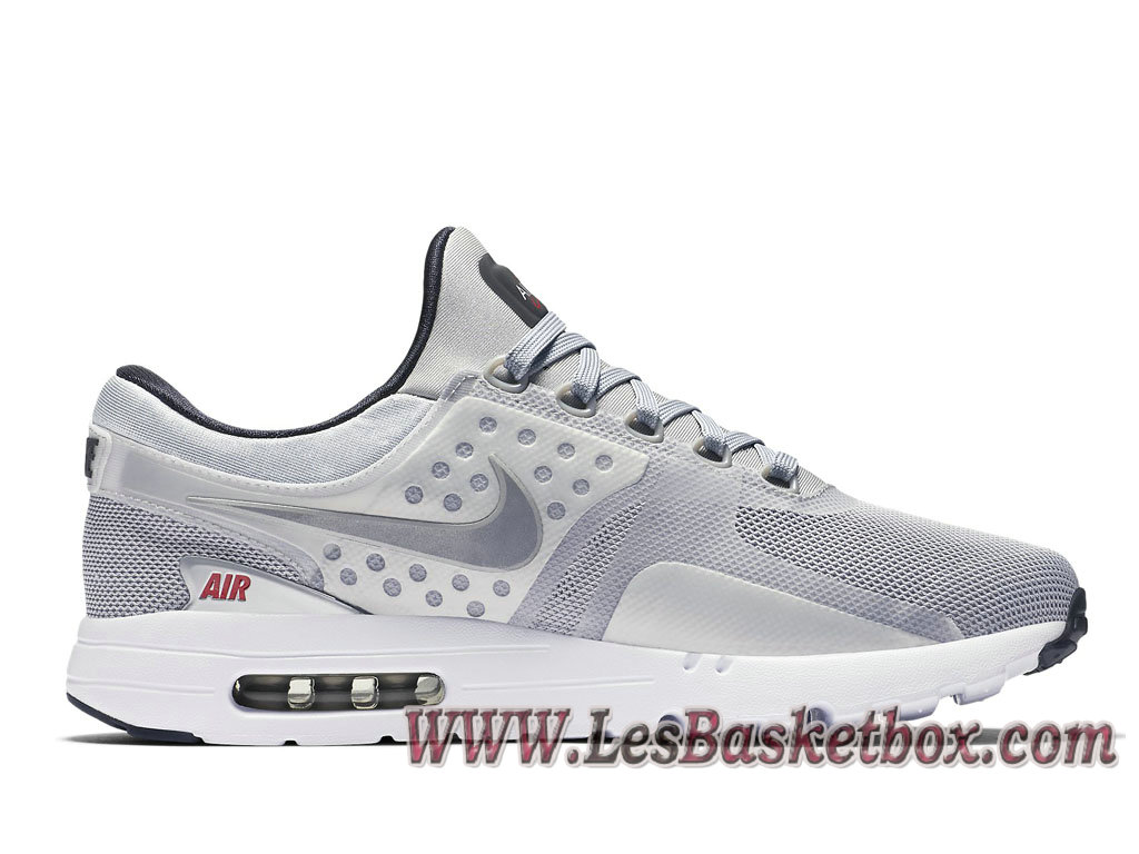 ... Homme Nike Air Max Zero ´Metallic Silver´ 789695 002 Chaussures Nike  2017 Release Taille ... 7ff0efb35