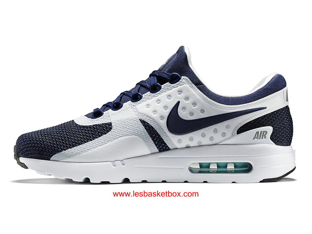 premium selection 3fd5b 1a017 ... Nike Air Max Zero Navy Shoes White Black Classic Colour Womens Kids  789695-104 ...
