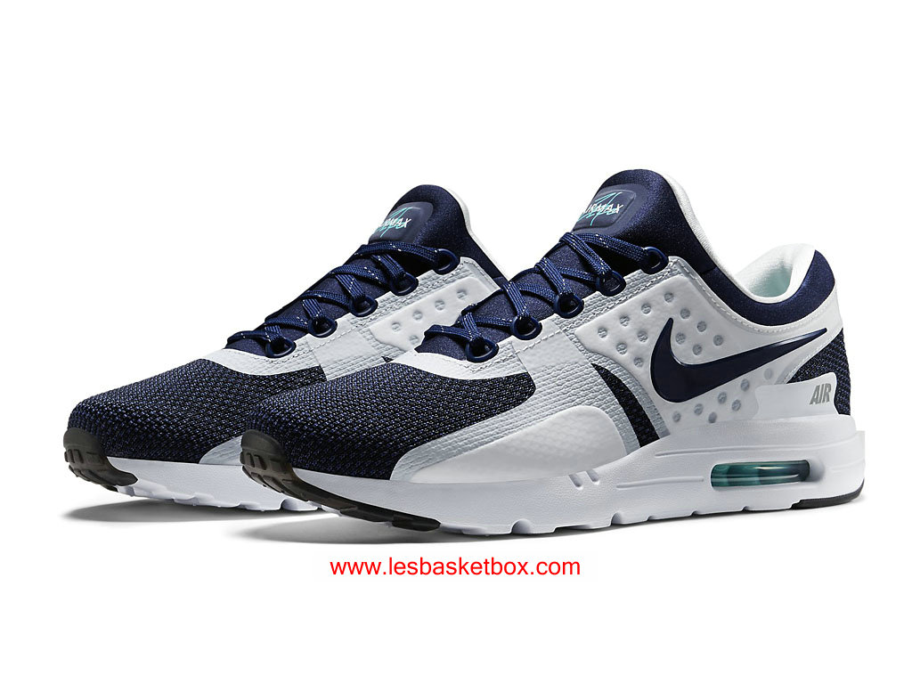 brand new a7813 975ab ... Nike Air Max Zero Navy Shoes White Black Classic Colour WomensKids  789695-104 ...
