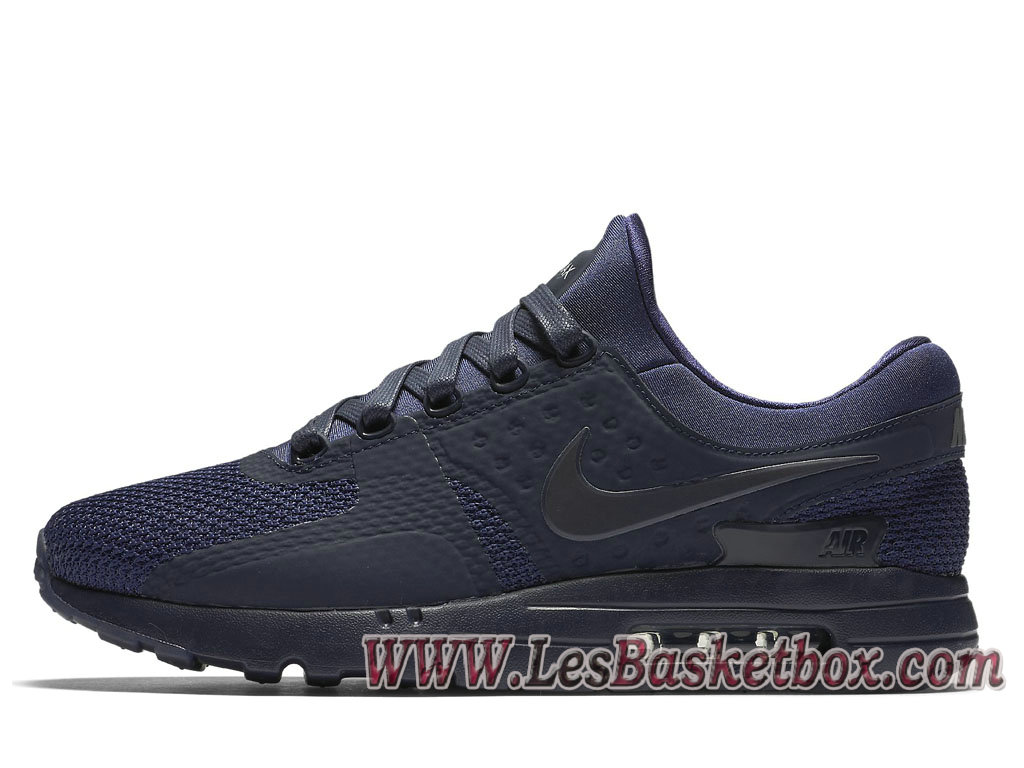 buy online da074 cdc5b Nike Air Max Zero QS Bleue 789695 400 Shoe Officiel Nike For Men´s ...