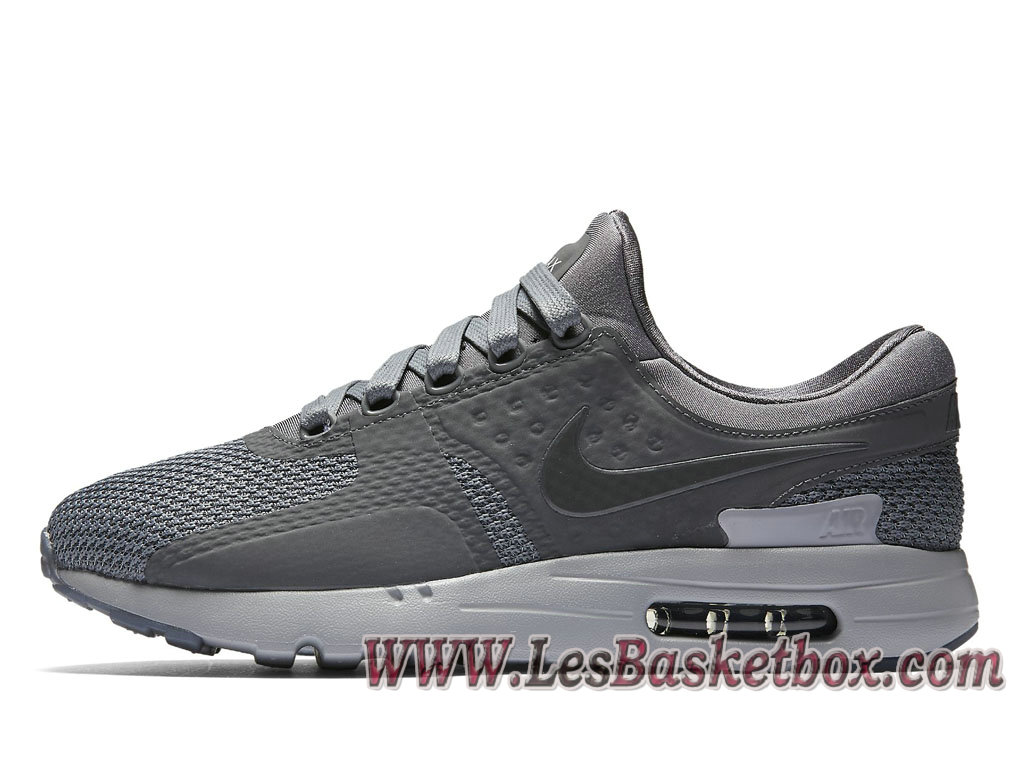 sports shoes 53ead 3c7ce Nike Air Max Zero QS Cool Grey 789695 003 Chaussures NIke 2017 Pour Homme  Gris ...