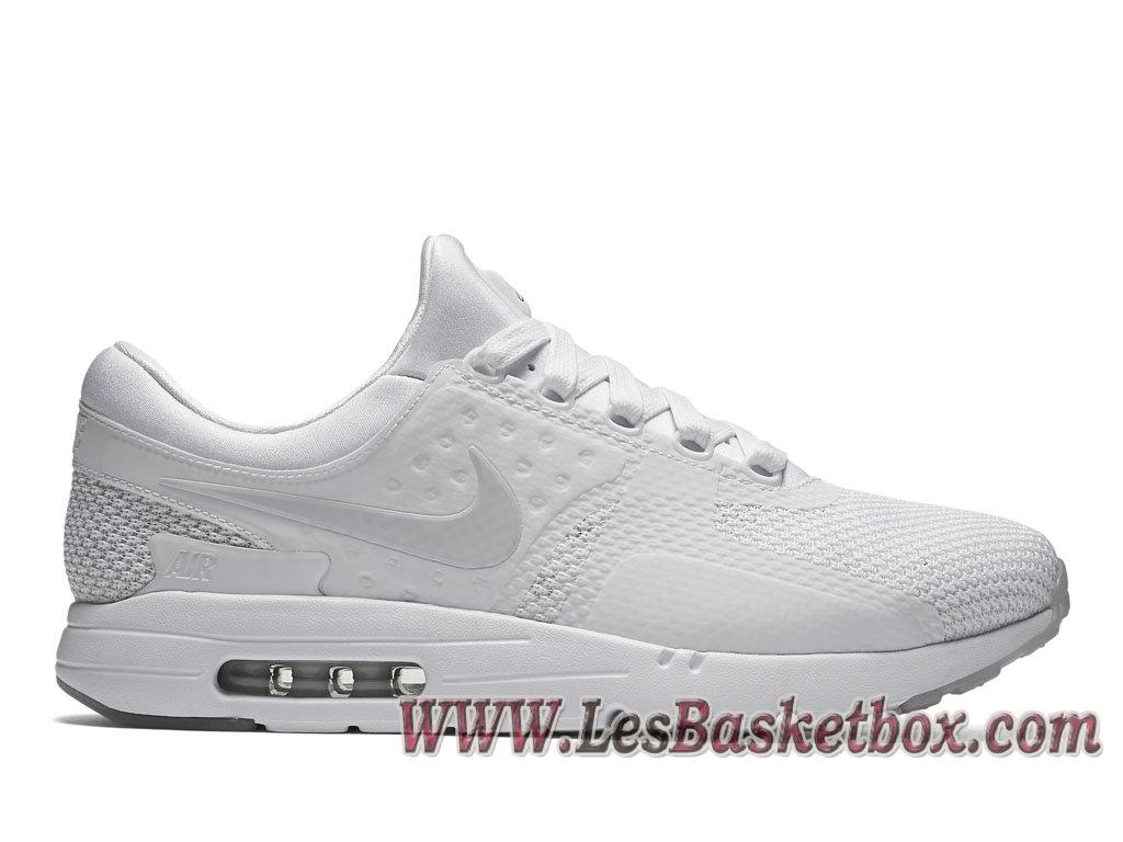 Nike Air Max Zero QS Triple White 789695_102 Shoe NIke 2017 For Men´s White