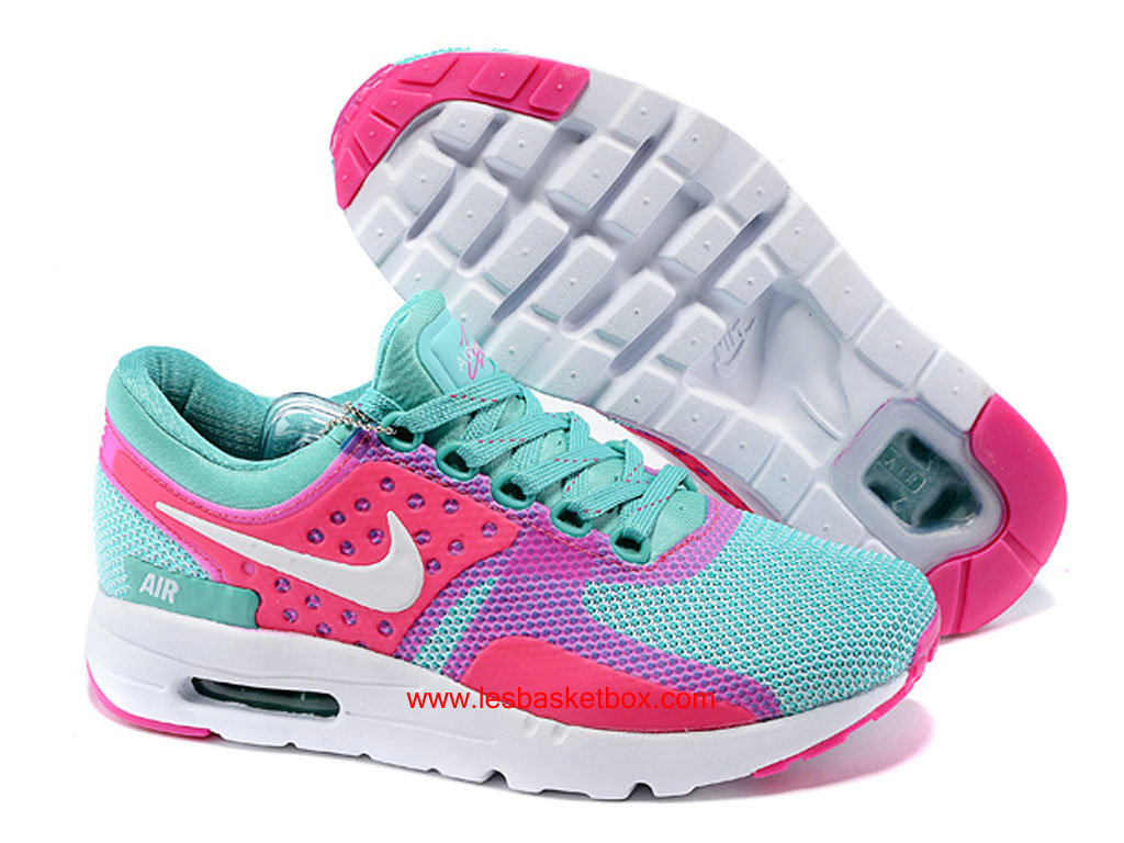 reputable site 38b04 c9a95 ... Nike Air Max Zero Pink Green White Colour For Womens Kids Cheap ...
