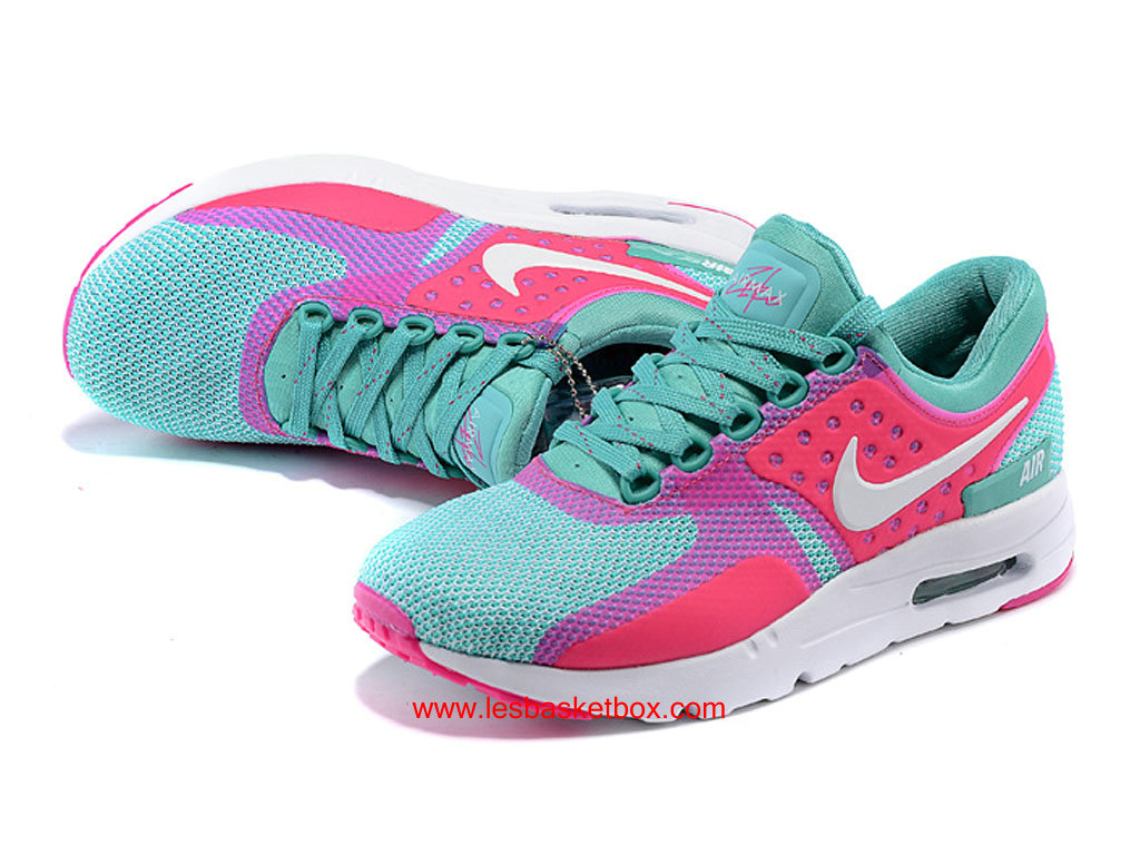 reputable site 7d0f3 4309d ... Nike Air Max Zero Pink Green White Colour For Womens Kids Cheap ...