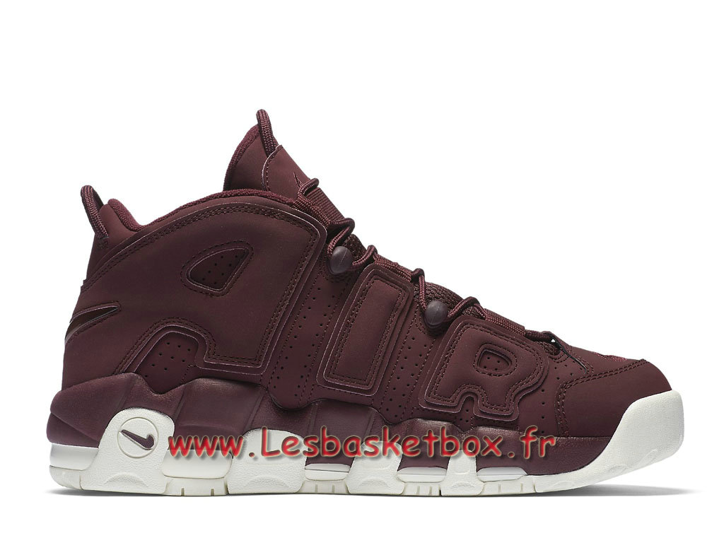 100% authentic b9e42 99624 ... Nike Air More Uptempo 96 Qs Night Maroon 921949 600 Chaussures Nike  Release 2017 Pour HOmme ROuge ...