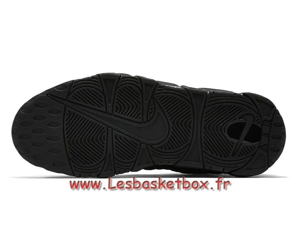 buy online 28960 ba557 ... Nike Air More Uptempo Black Reflective 414962-004 men´s Nike Basket Shoes  Black ...