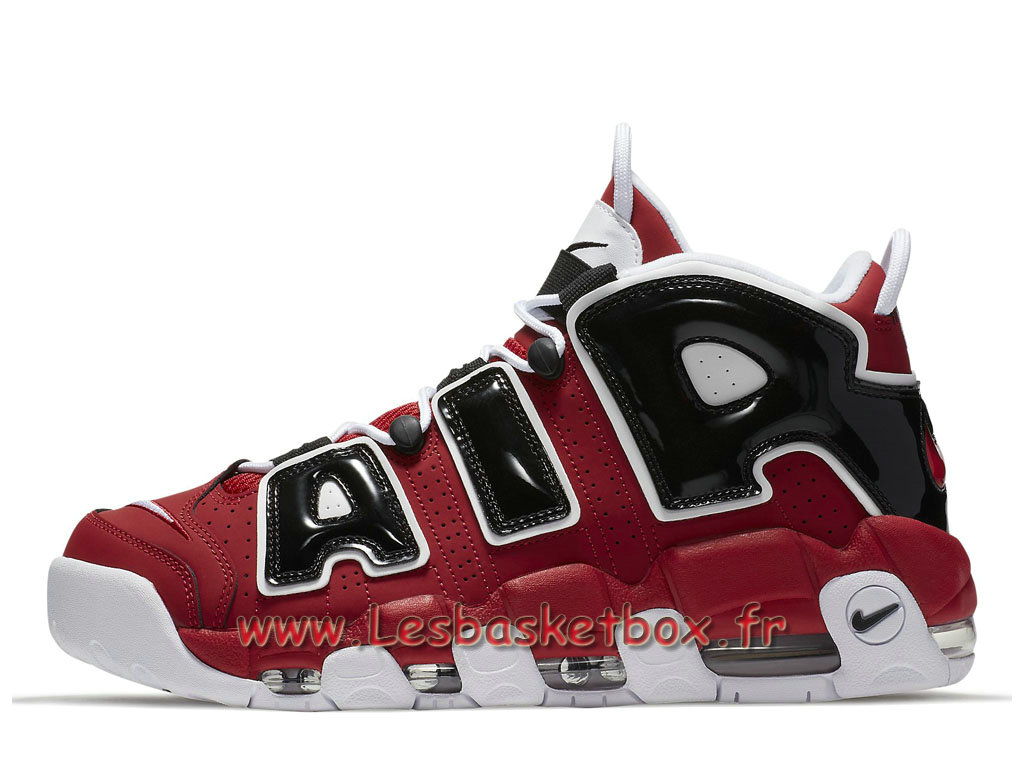 Nike Air More Uptempo Bulls 921948-600 Chaussures Nike Uptempo 2017 Pour Homme Red