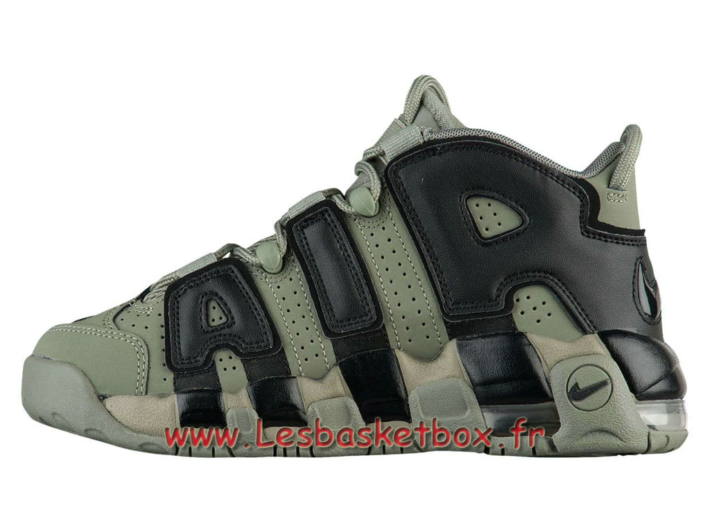 Nike Air More Uptempo Dark Stucco Chaussures Nike Uptempo Officiel Pour HOmme Dark Gris