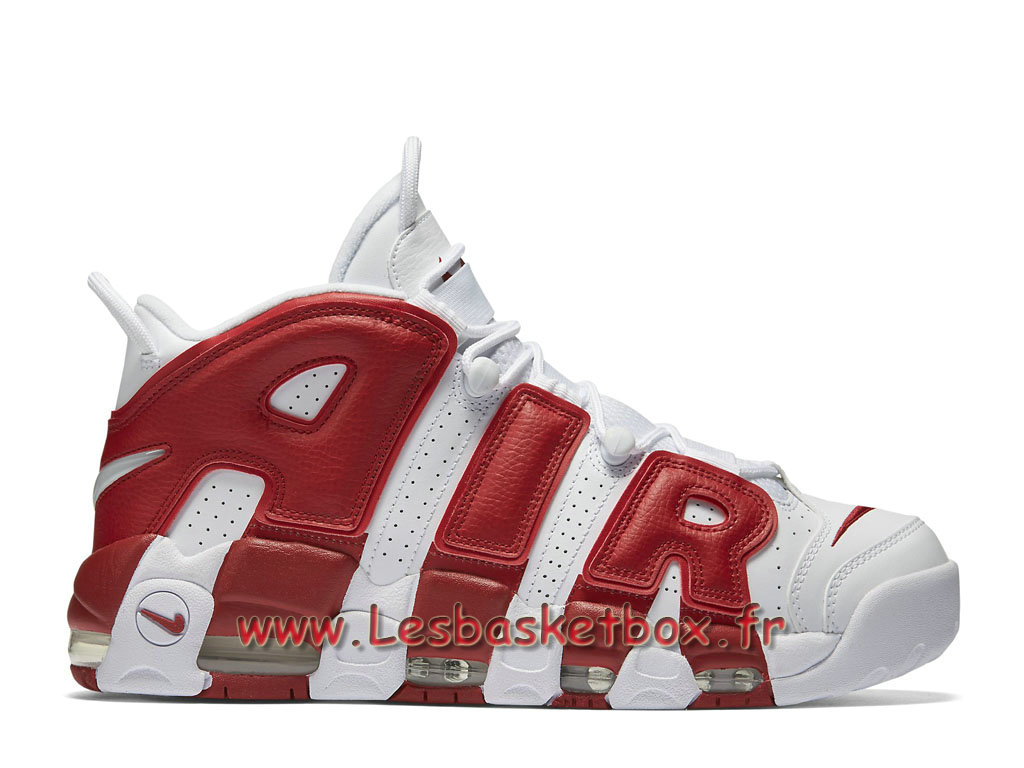 Nike Air More Uptempo Gym Red 414962-100 Chaussures NIke RElease 2018 Pour Homme Red
