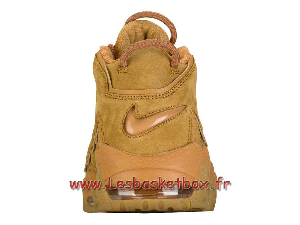 sale retailer 9af96 669db ... Nike Air More Uptempo PRM Wheat aa4060 200 Chaussures Officiel Prix  Pour Homme