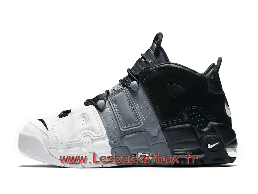 Nike Air More Uptempo Tri 921948-002 Chaussures Nike Uptempo Prix Pour Homme Blanc/Noires
