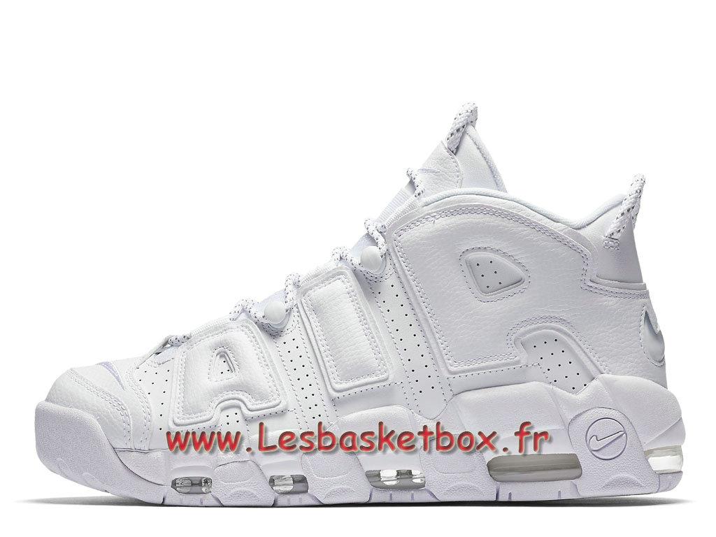 detailed look 7a35c 254ac Nike Air More Uptempo Triple White 921948100 Chausport Officiel 2017 Pour  Homme Blanc ...
