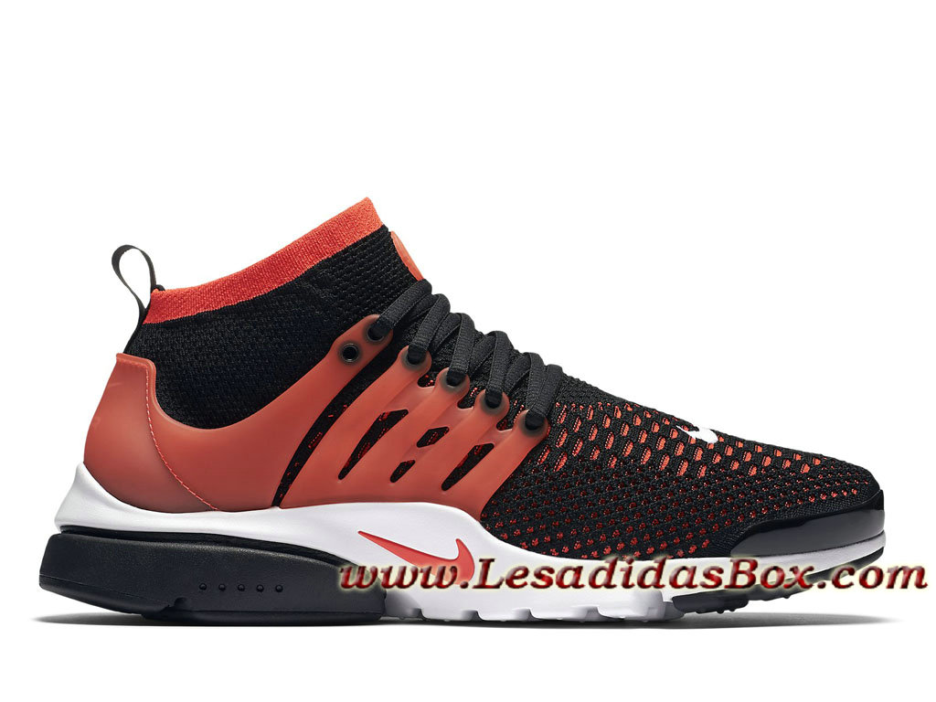 pretty nice 4f2aa 4d260 Nike Air Presto Ultra Flyknit Black Bright Crimson 835570-006 Chaussures  Pour Homme Noir