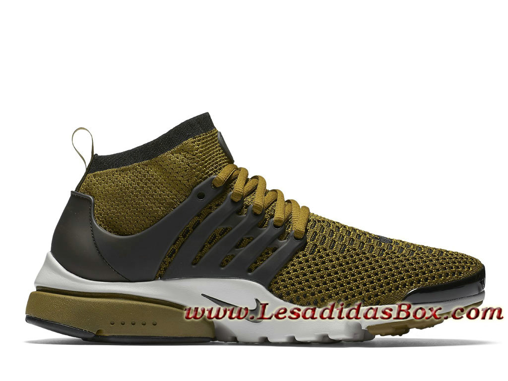 online store 218c8 ed77a Nike Air Presto Ultra Flyknit Olive Flak 835570-300 Chaussures NIke Pas  cher Pour Homme ...