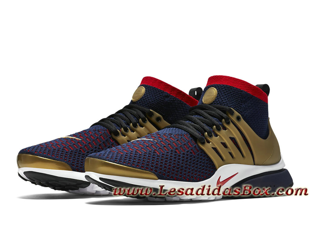 Nike Air Presto Ultra Flyknit Olympic Bleue Marine 835570