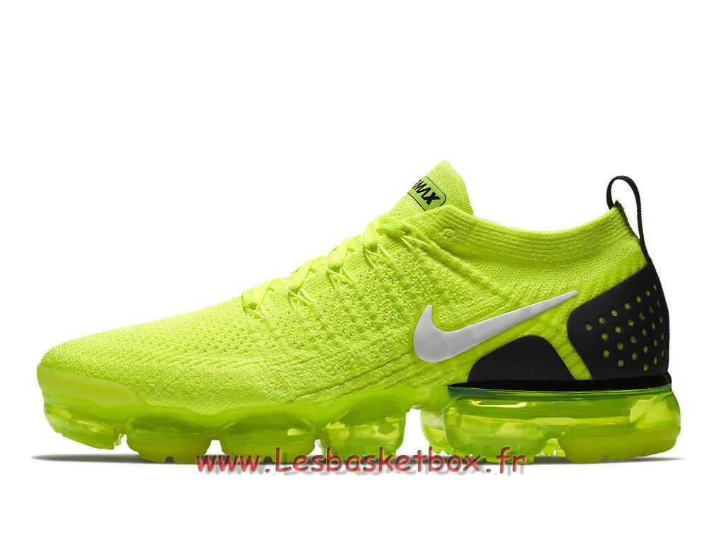Nike Air Vapormax 2 0 Flyknit Volt 942842 007 Shoes Nike