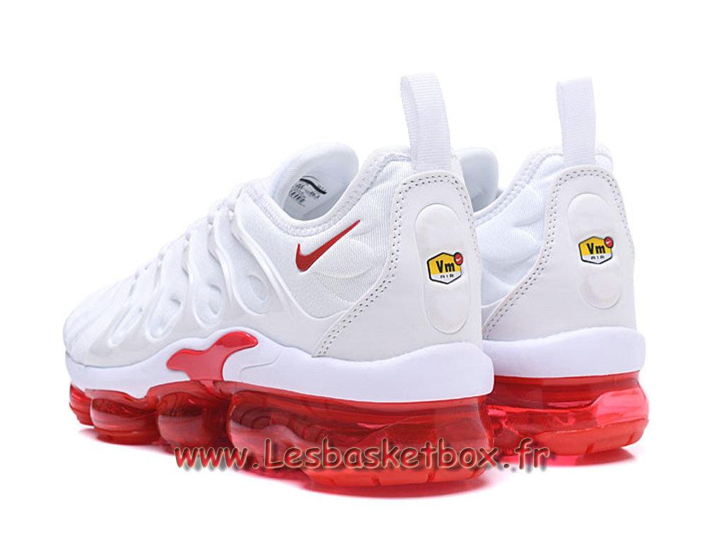 bbb2b2aabbac1 ... Nike Air Vapormax Plus Blanc/Rouge Chaussures Nike Pas cher Pour Homme
