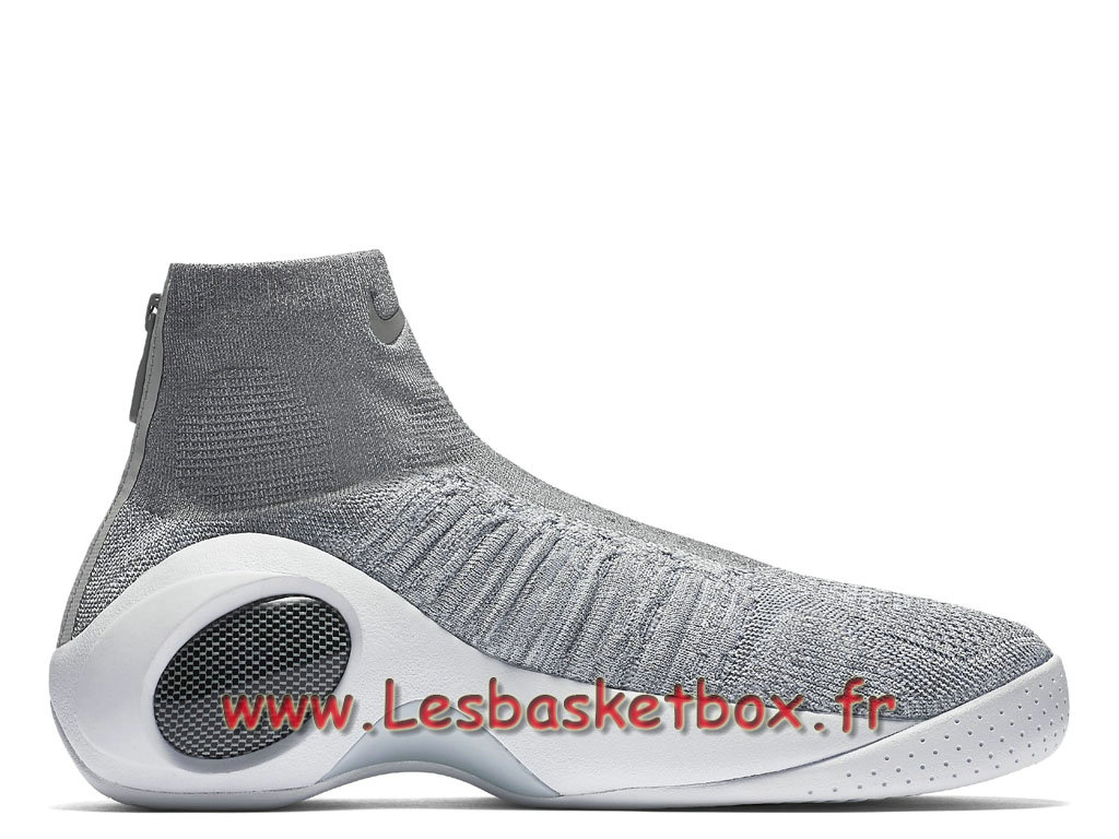huge discount 6ad8e e6b03 ... Nike Flight Bonafide Cool Grey 917742 002 Chaussures NIke Pas cher Pour  Homme Gris ...