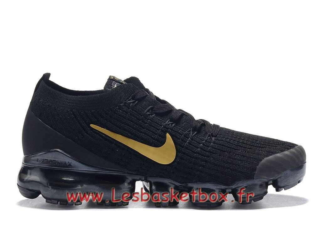 plus de photos 5f9f1 b5fa4 Nike Flyknit Air Vapormax 2019 Noires/Gold AT6910_ID3 Chaussures nike Pas  cher Pour HOmme - 1812201797 - Officiel Nike Basket Pour Homme Et Femme A  ...