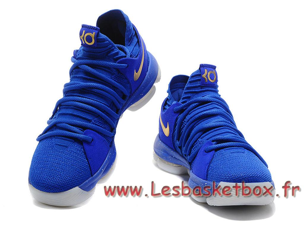 516097ea4d5d Nike KD 10 Blue Gold Men´s nike kd 11 Shoes Blue - 1707131036 ...