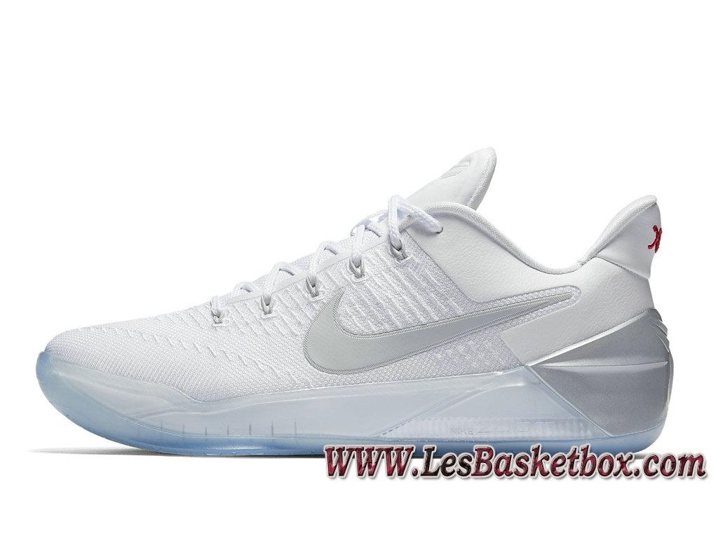 Nike Kobe White Chrome 852425 110 Officiel Chaussures Officiel 110 Nike Pour 0597a6
