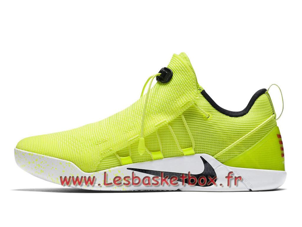 los angeles f36e8 da1d6 Nike Kobe A.D.NXT Volt 916832-710 Chaussures Nike Officiel Pour Homme Vert
