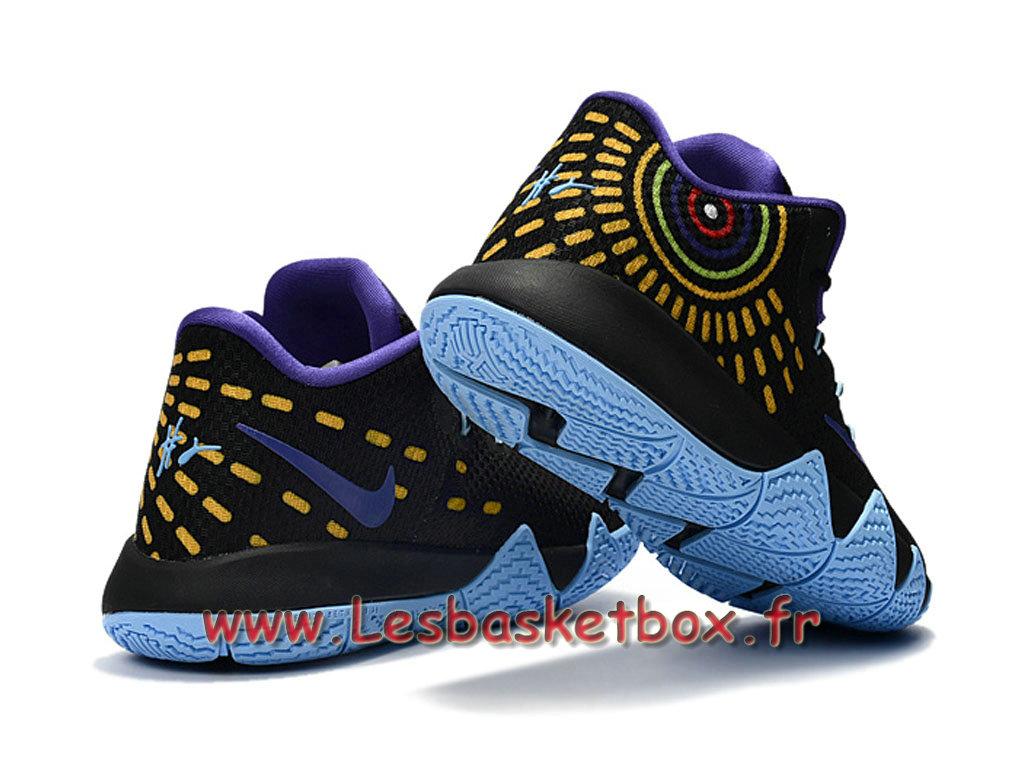 the latest 71c9b c50fe ... Nike Kyrie 4 Noires Pourpre Chausport Nike Basket Prix Pour Homme