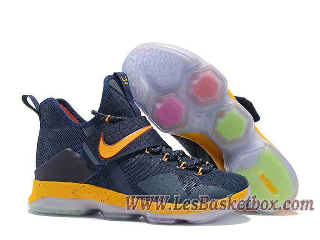 2e2508ac6d6 best price nike lebron 14 deep blue yellow mens lebron 15 shoes 4edd7 7bc50
