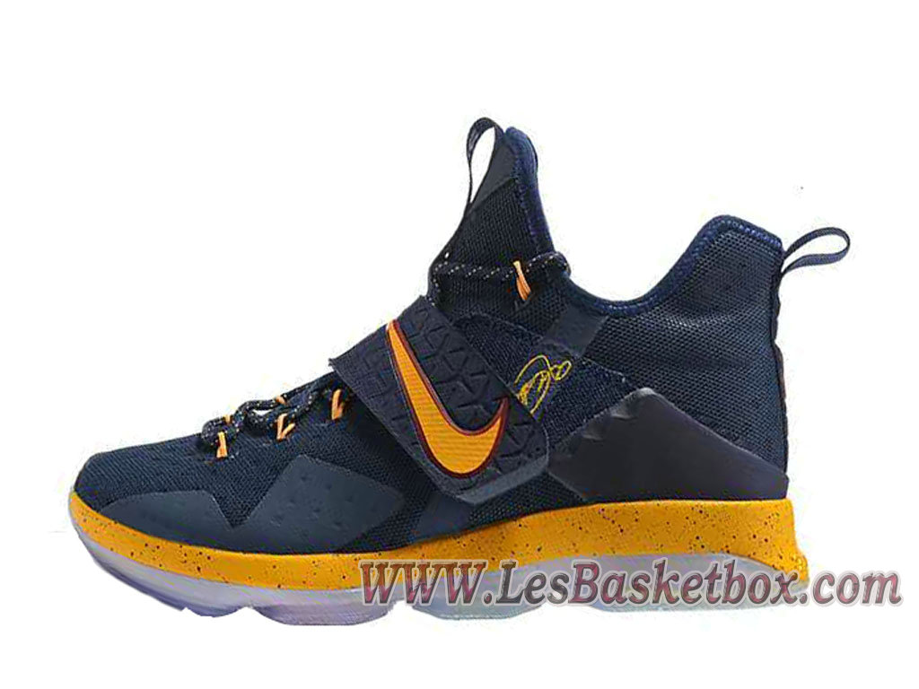 buy online aa7cf 5471c Nike Lebron 14 Deep Blue/Yellow Men´s lebron 15 Shoes - 1710020647 -  Official Nike Air Max(Urh) For Mens And Womens Sale In Low Price