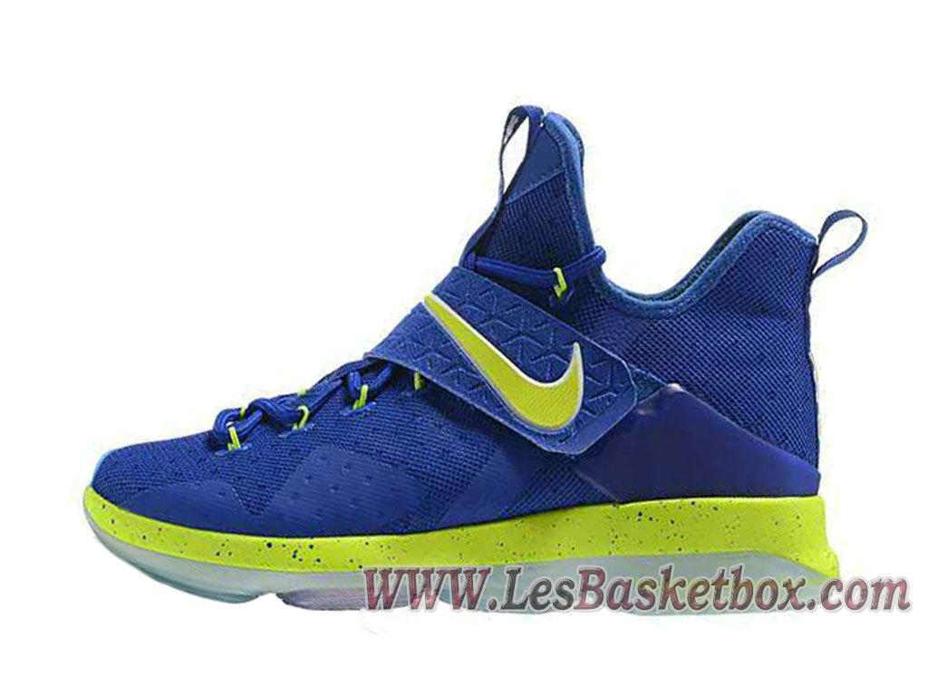 1ffe004289088 Nike Lebron 14 Deep Blue Green Men´s lebron 14 black ice Shoes ...
