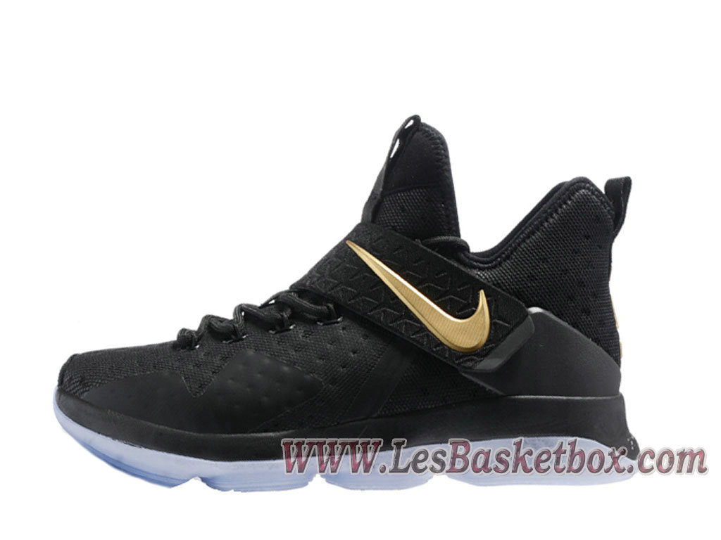 027ba7d5c1b8 Nike Lebron 14 Black GOld Men´s lebron 14 low Shoes - 1710020640 ...