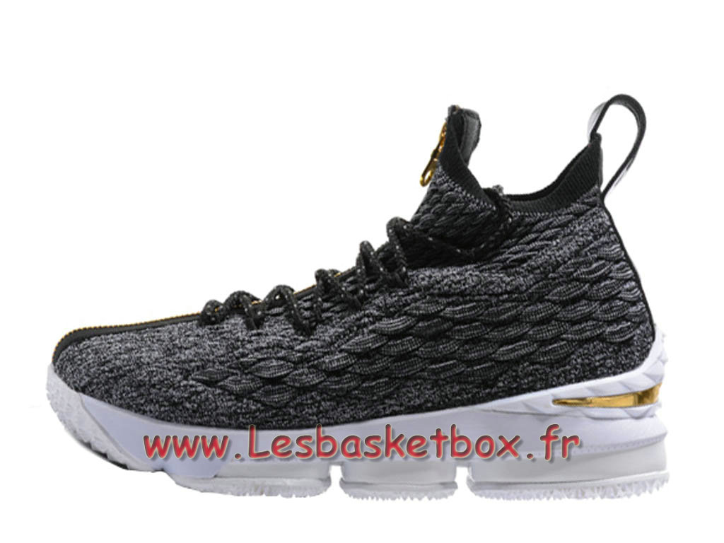 Nike Lebron 15 Gris Or 897648 Id10 Chaussures Nike Lebron 2018 Pour