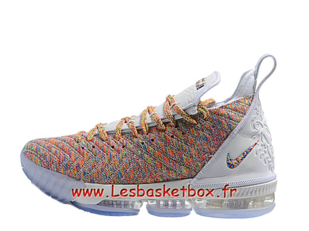 Nike LeBron 16 Blanc Color ao2588_ID1 Chaussure NIke Basket Pour Homme