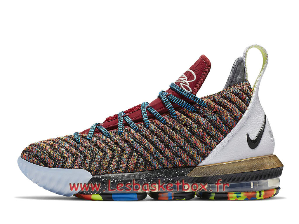 Nike LeBron 16 What The BQ6580_900 Chaussures Officiel Basket Pour Homme Color