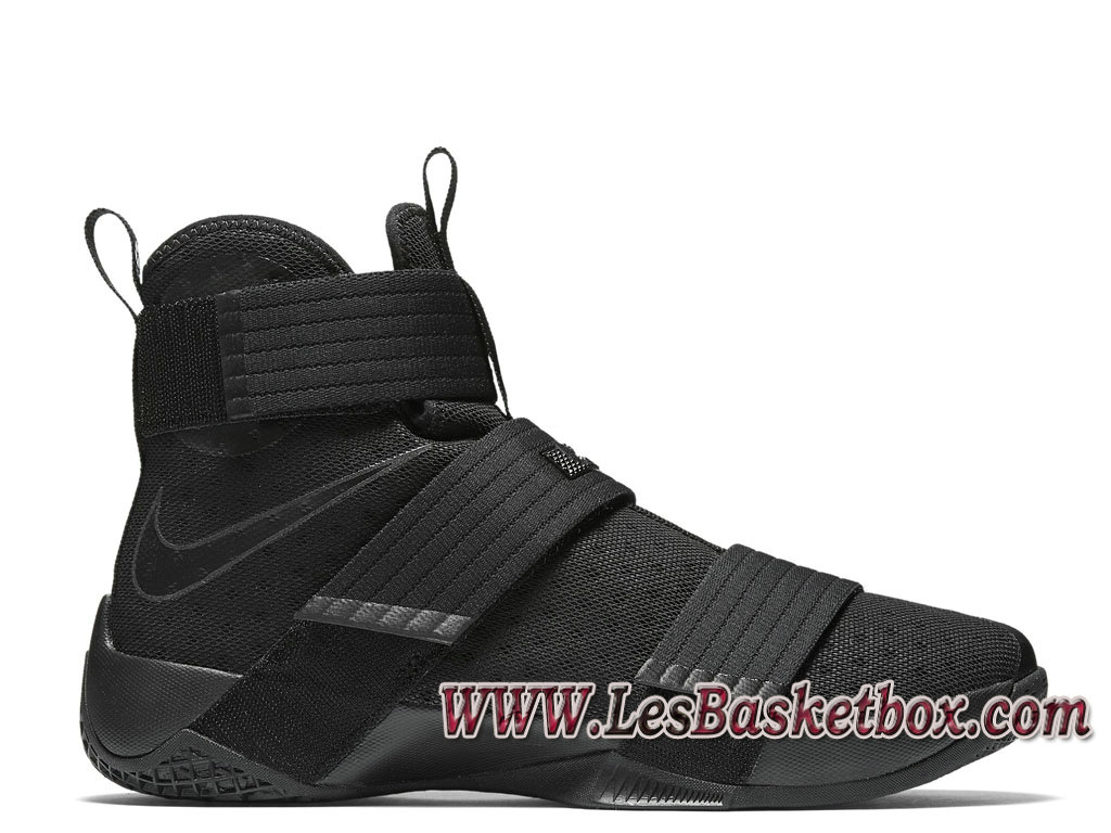 Soldier Chaussures 844374 Prix Lebron 10 Space Black Nike 001 80nvmNw